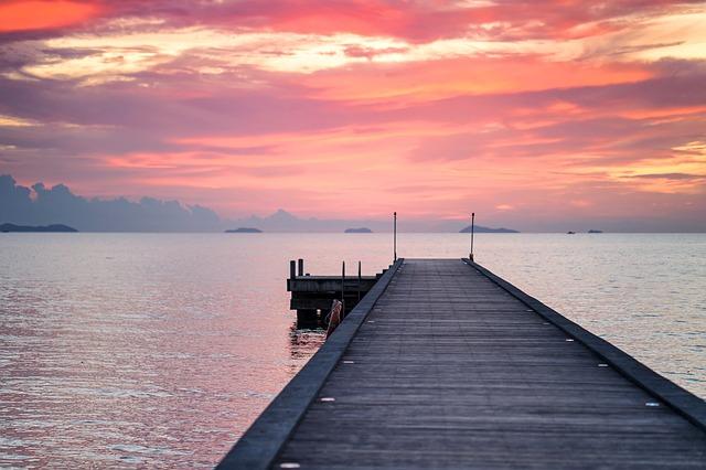 Pier at Koh Samui