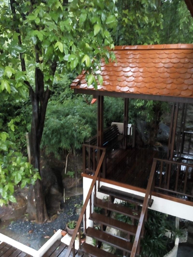 Veranda Area - Baan Siam, Koh Phangan